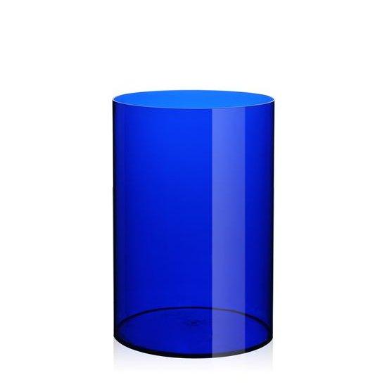 Ufficio Tecnico Papierkorb blau transparent