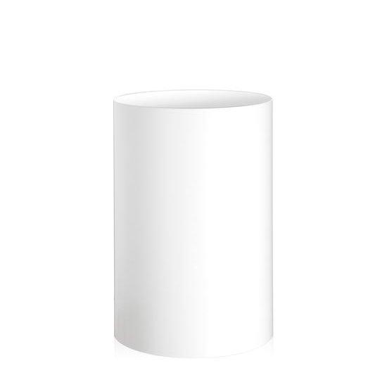 Ufficio Tecnico Papierkorb weiß undurchsichtig