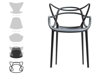 masters stapelstuhl von kartell bei homeform wohndesign. Black Bedroom Furniture Sets. Home Design Ideas