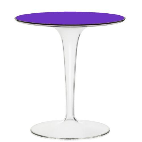 TipTop Beistelltisch transparent V4 violett