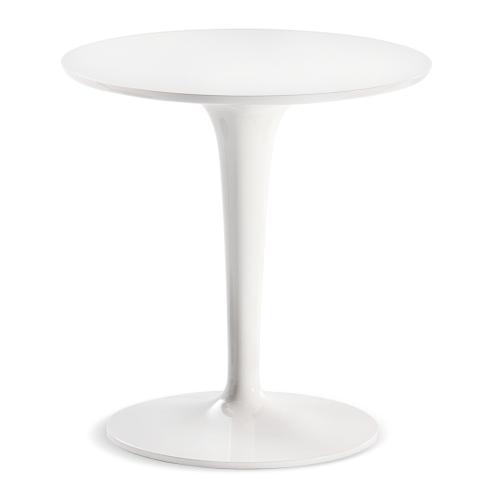 TipTop Mono Beistelltisch 03 weiß glänzend