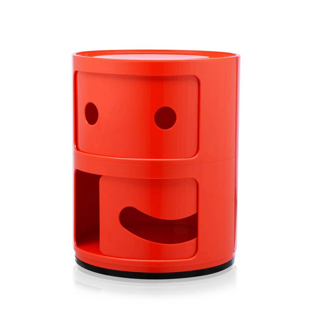COMPONIBILI SMILE Container lächelnd, mit leicht geöffneter Tür