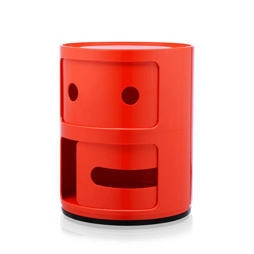 COMPONIBILI SMILE Container offenes Gesicht, mit leicht geöffneter Tür