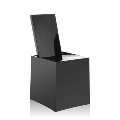 Miss Less Stuhl von Philipe Starck, komplett schwarz