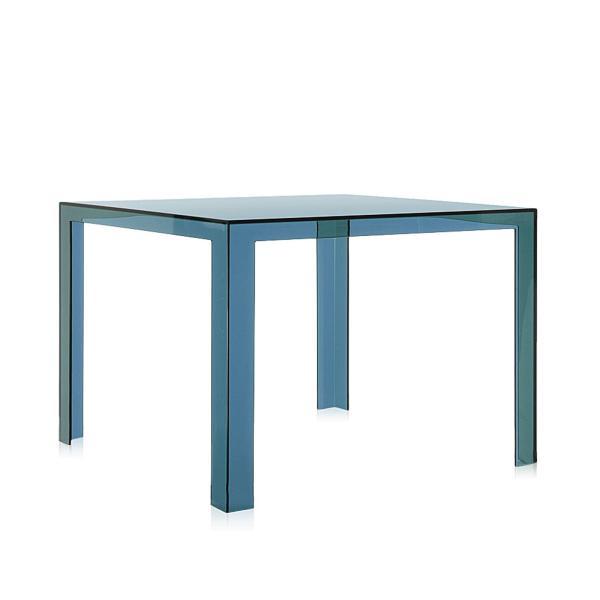 Invisible Table Esstisch petrol, von Kartell