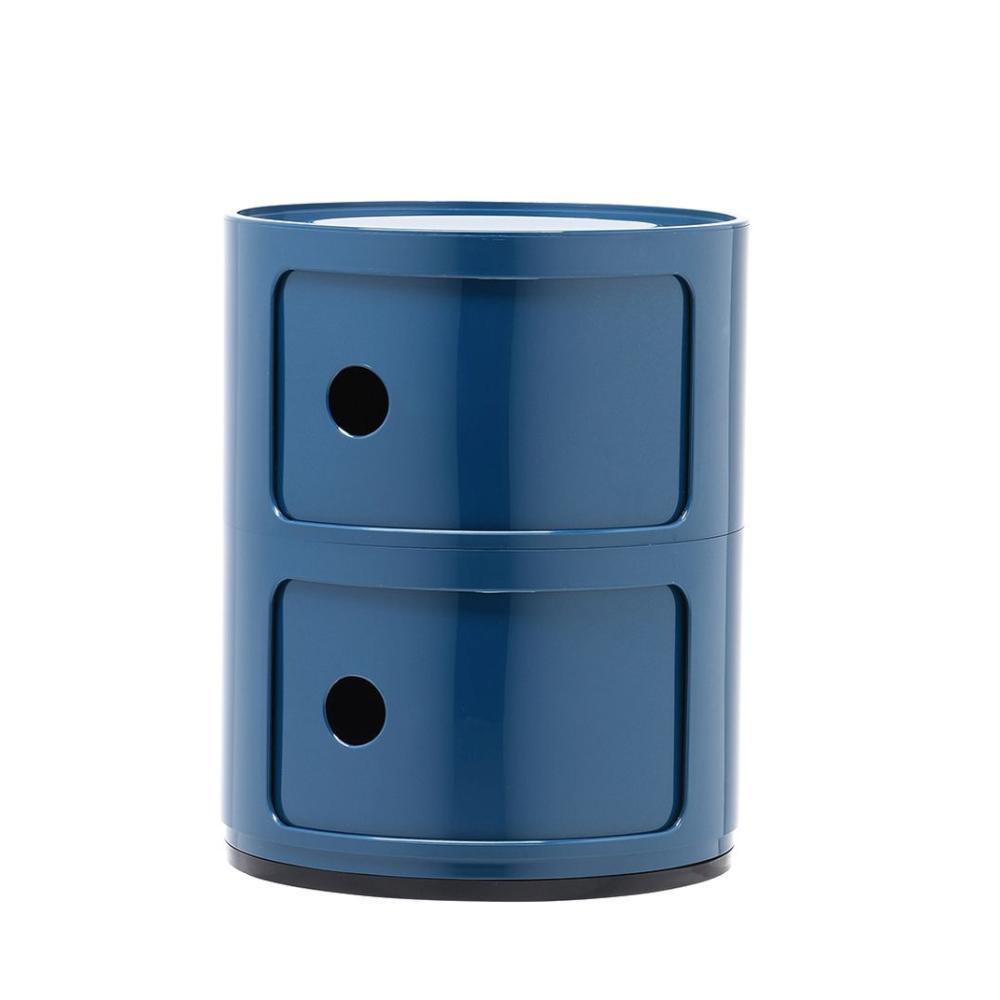 componibili container blau von kartell bei. Black Bedroom Furniture Sets. Home Design Ideas