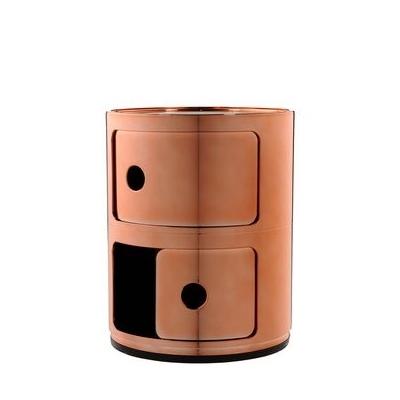 COMPONIBILI Container kupfer mit Schubklappe