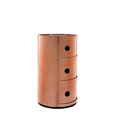 COMPONIBILI Container Metalloptik 3 Fächer
