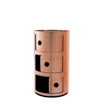 Seitenansicht COMPONIBILI Container 3 Fächer