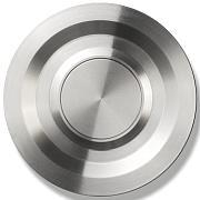 JINGLE-BELL.CIRCLE Premium Türklingel, rund 6 cm, Edelstahl