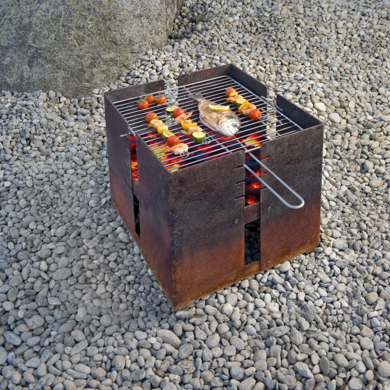 Feuerstelle FIDIBUS von keilbach mit Grillrost (optional)