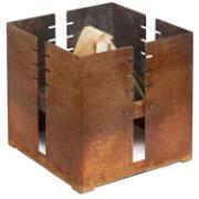 fidibus Feuerstelle 45 x 45 x 45 cm, aus wetterfestem Stahl