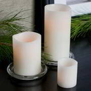 LED-Echtwachskerzen Elfenbein, Hersteller Klein und More, Designer Klein und More