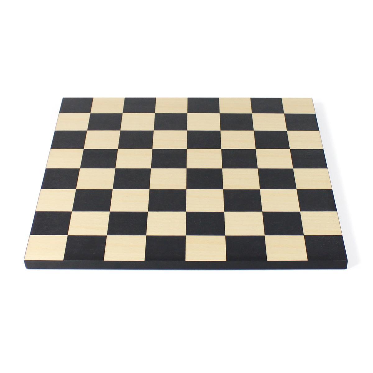 Man Ray Schachbrett massives Buchenholz, ohne Spielfiguren