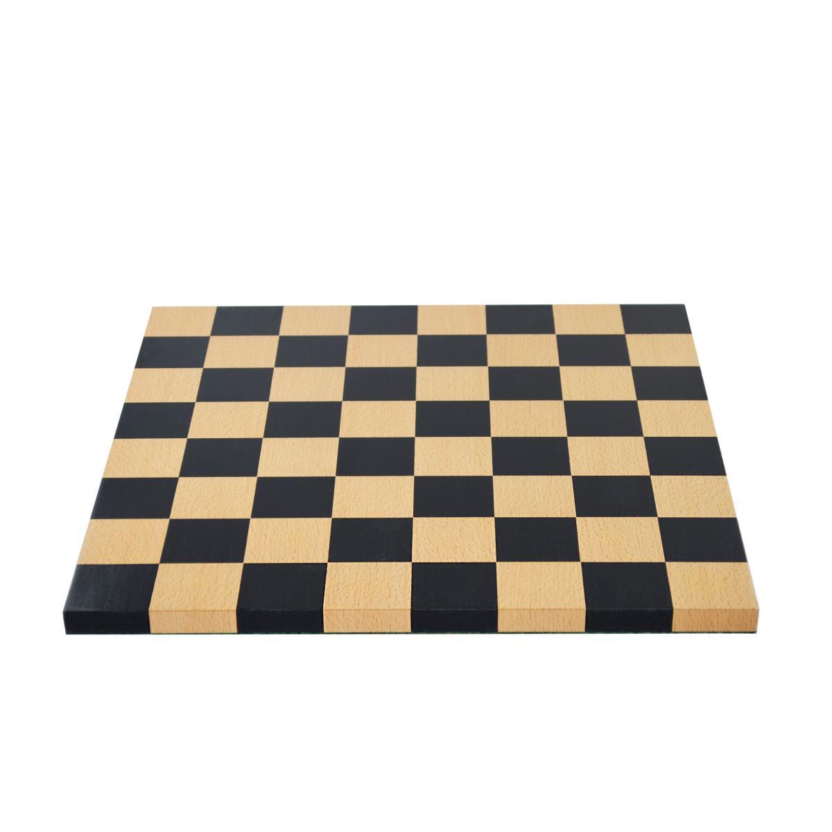 Man Ray Schachbrett, Zedernholz mit Intarsien aus Buchenholz