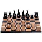 Man Ray Schachspiel massives Buchenholz komplett mit Figuren