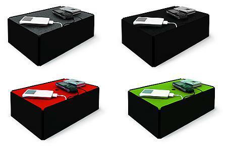 Charge-Box Kabelbox schwarz