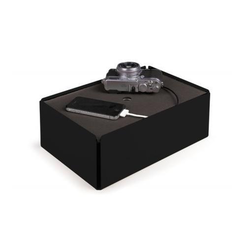 Charge-Box Kabelbox schwarz/grau