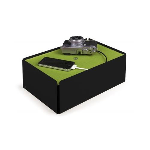 Charge-Box Kabelbox schwarz/grün