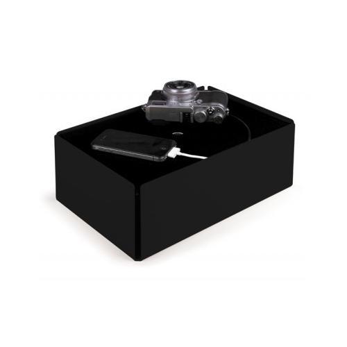 Charge-Box Kabelbox schwarz/schwarz
