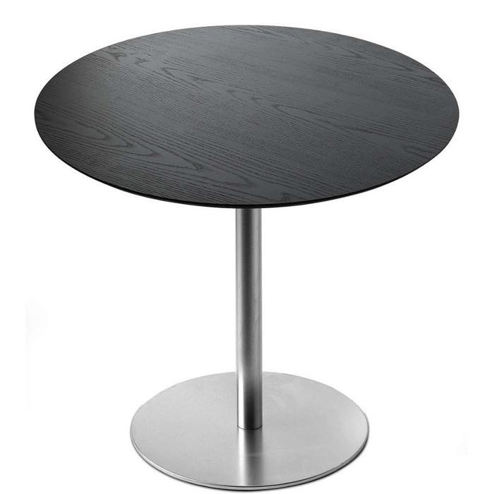 BRIO Tisch fix, Platte Eiche schwarz gebeizt