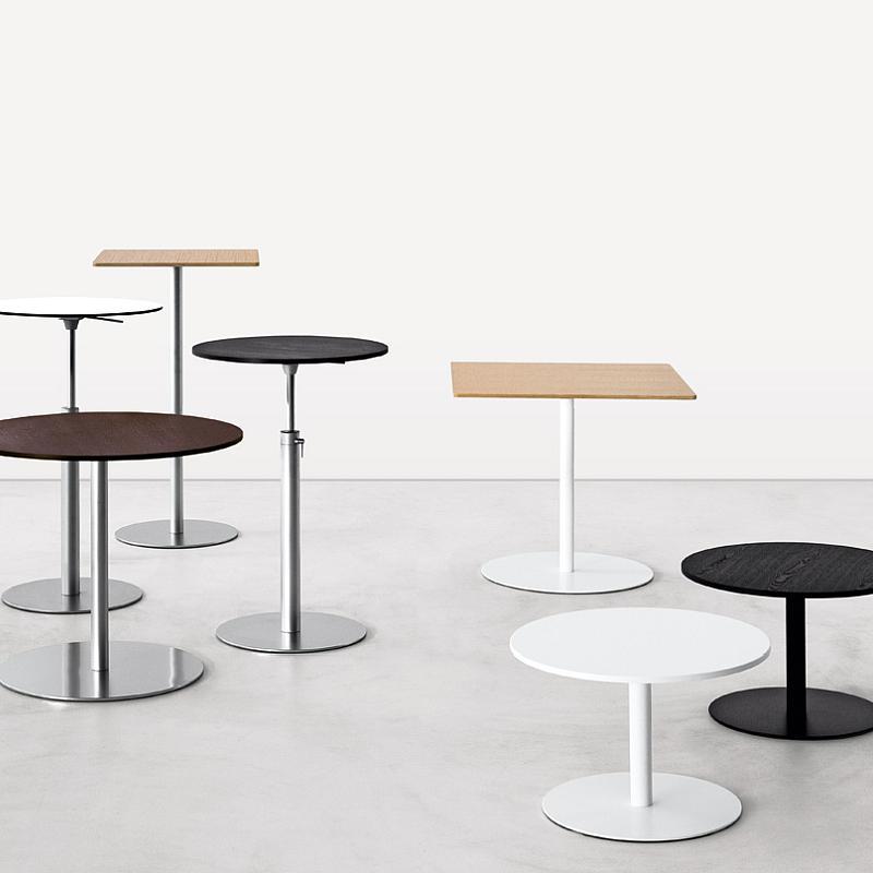 brio tisch rund von la palma bei. Black Bedroom Furniture Sets. Home Design Ideas