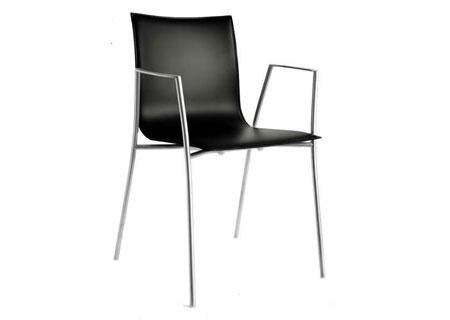 Thin Stuhl S15 Eiche schwarz gebeizt