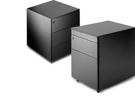 Cassettiera C1 Bürocontainer schwarz