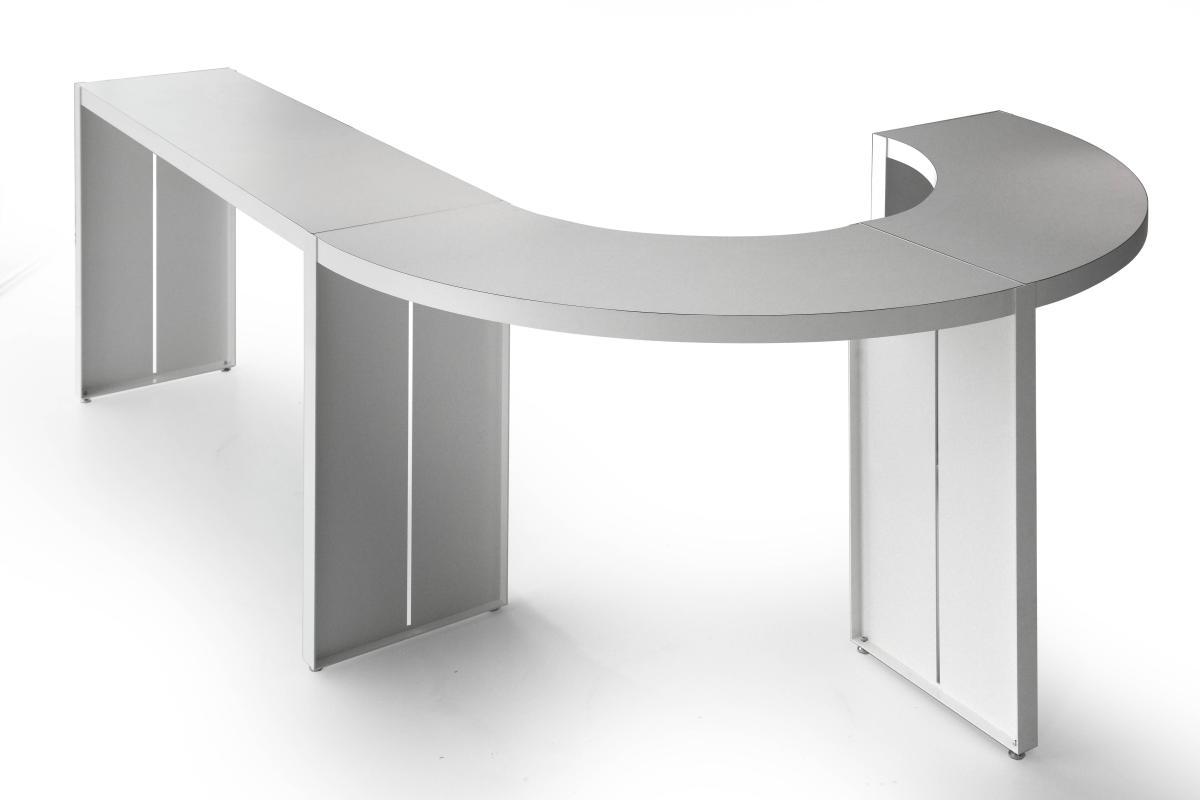 PANCO Tresentisch mit zwei Kurven-Tischen