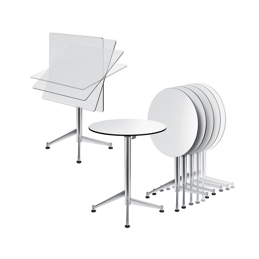Seltz esstisch bistrotisch klappbar von la palma bei for Esstisch 60x60