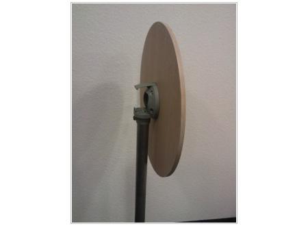 SELTZ Stehtisch klappbar Platte Eiche rund 60 cm