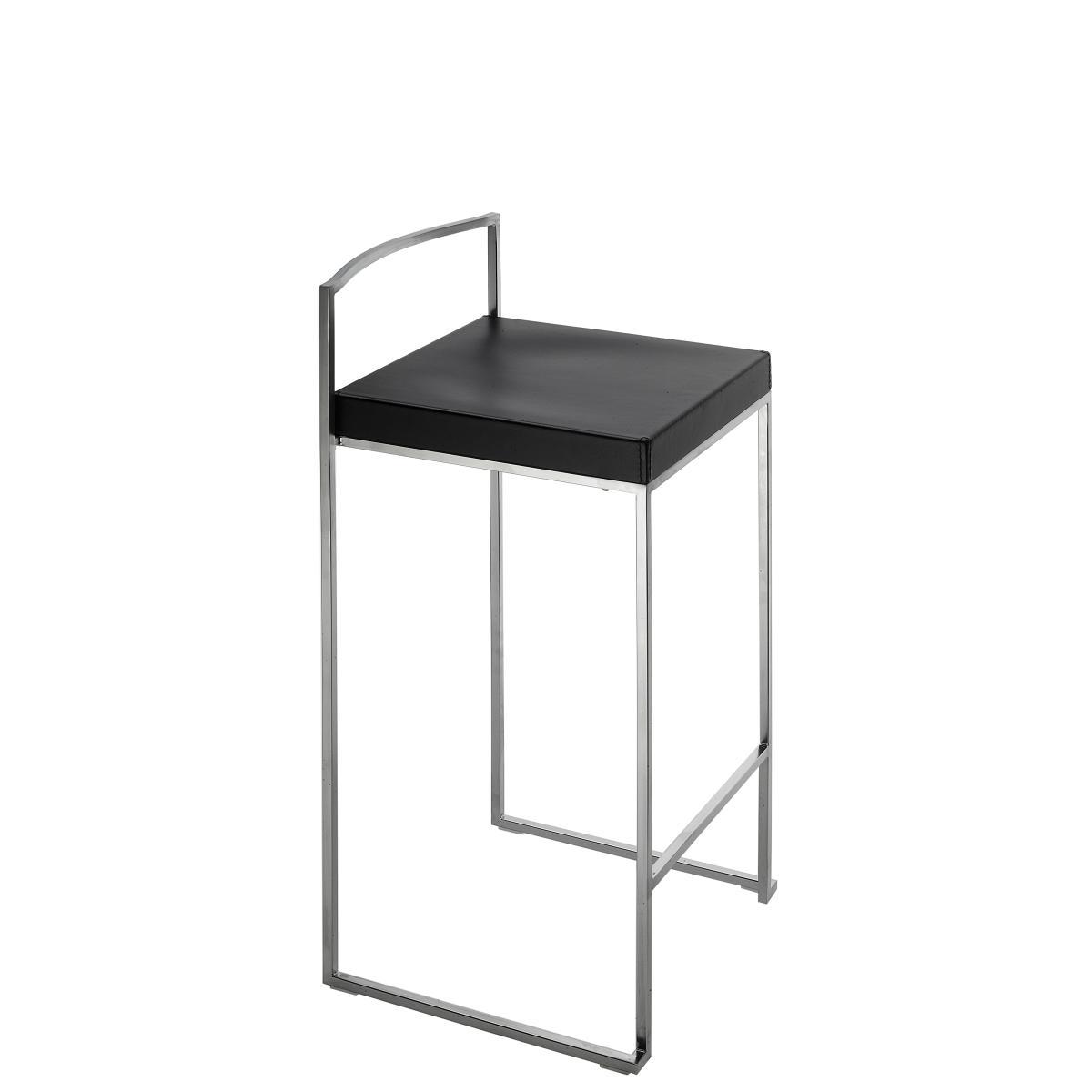 Cubo Tresenhocker schwarz lackiert