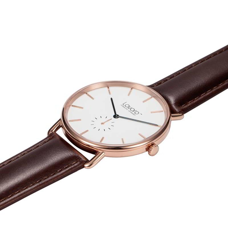 AIR Herren Armbanduhr 40 mm, LA60001 Stahl rose