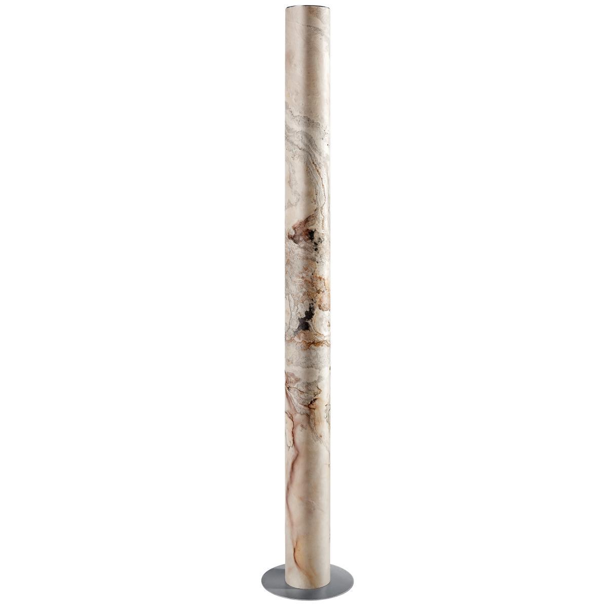 Columna Stehleuchte Weißperle