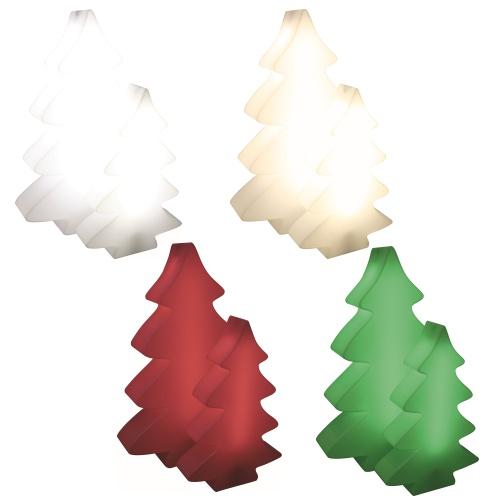 LUMENIO icewhite, sunny white, rudys red und chilly green