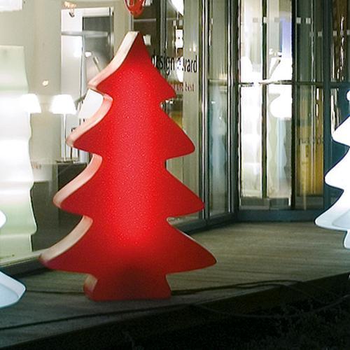 LUMENIO LIGHT MAXI beleuchteter Weihnachtsbaum rudys red