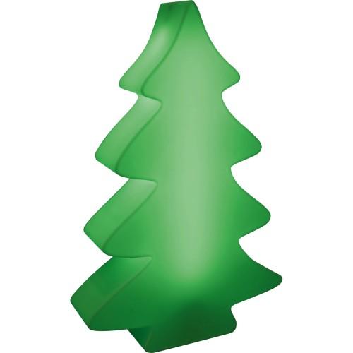 LUMENIO LIGHT MAXI beleuchteter Weihnachtsbaum chilli green