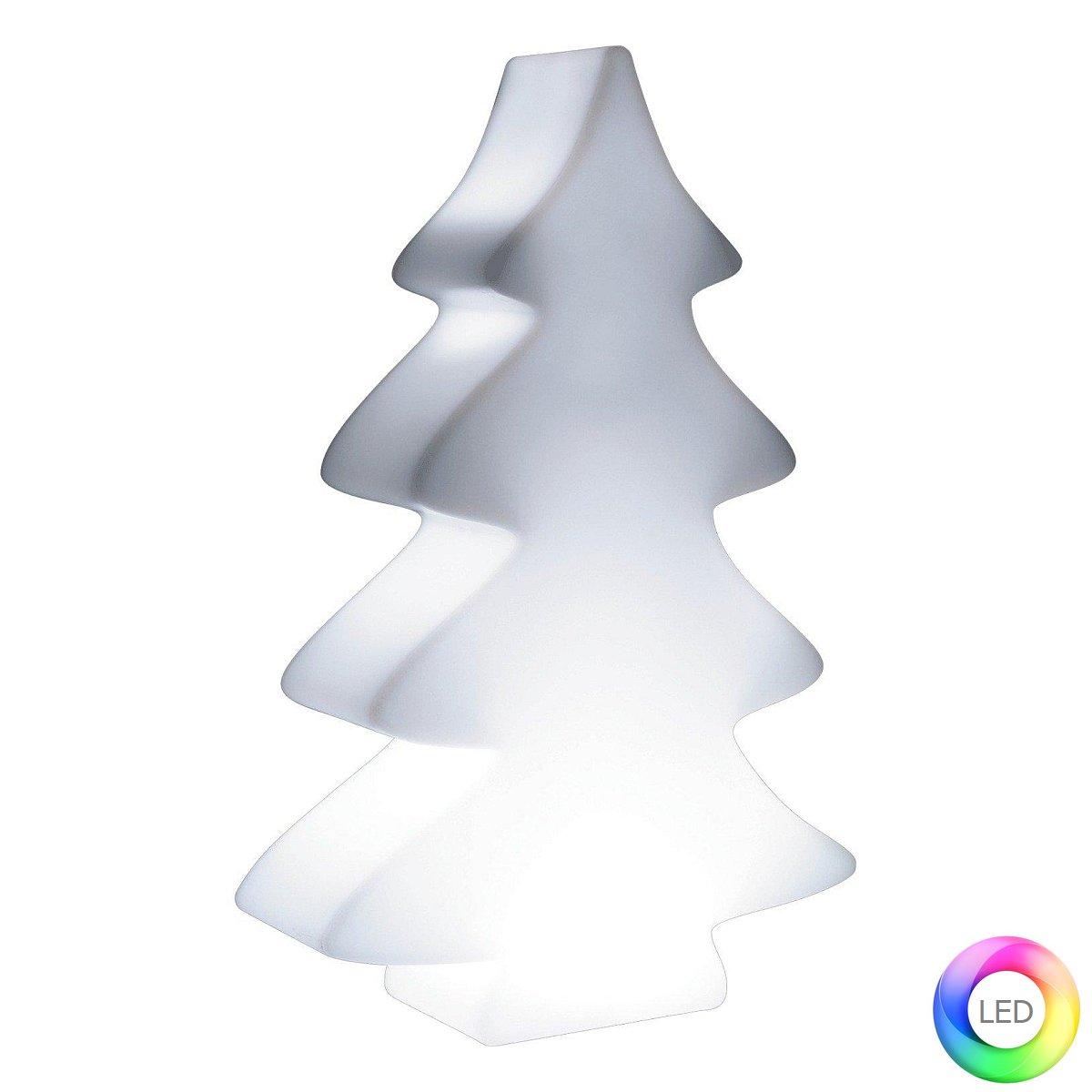 LUMENIO LED Weihnachtsbaum 115 cm Maxi, beleuchtet, Gehäuse weiß