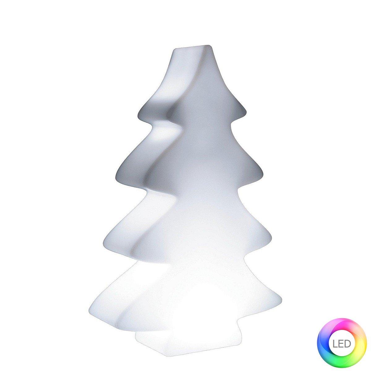 LUMENIO LED Weihnachtsbaum 82 cm Mini, beleuchtet, Gehäuse weiß