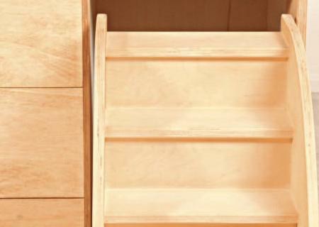 Wickelkommode MAHALINCHEN mit Treppe