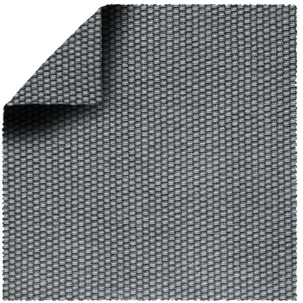 TORO Kopfteil alu inkl. 1 Kissen grau-blau (602)