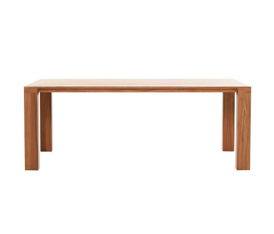 CURVE Tisch in Eiche