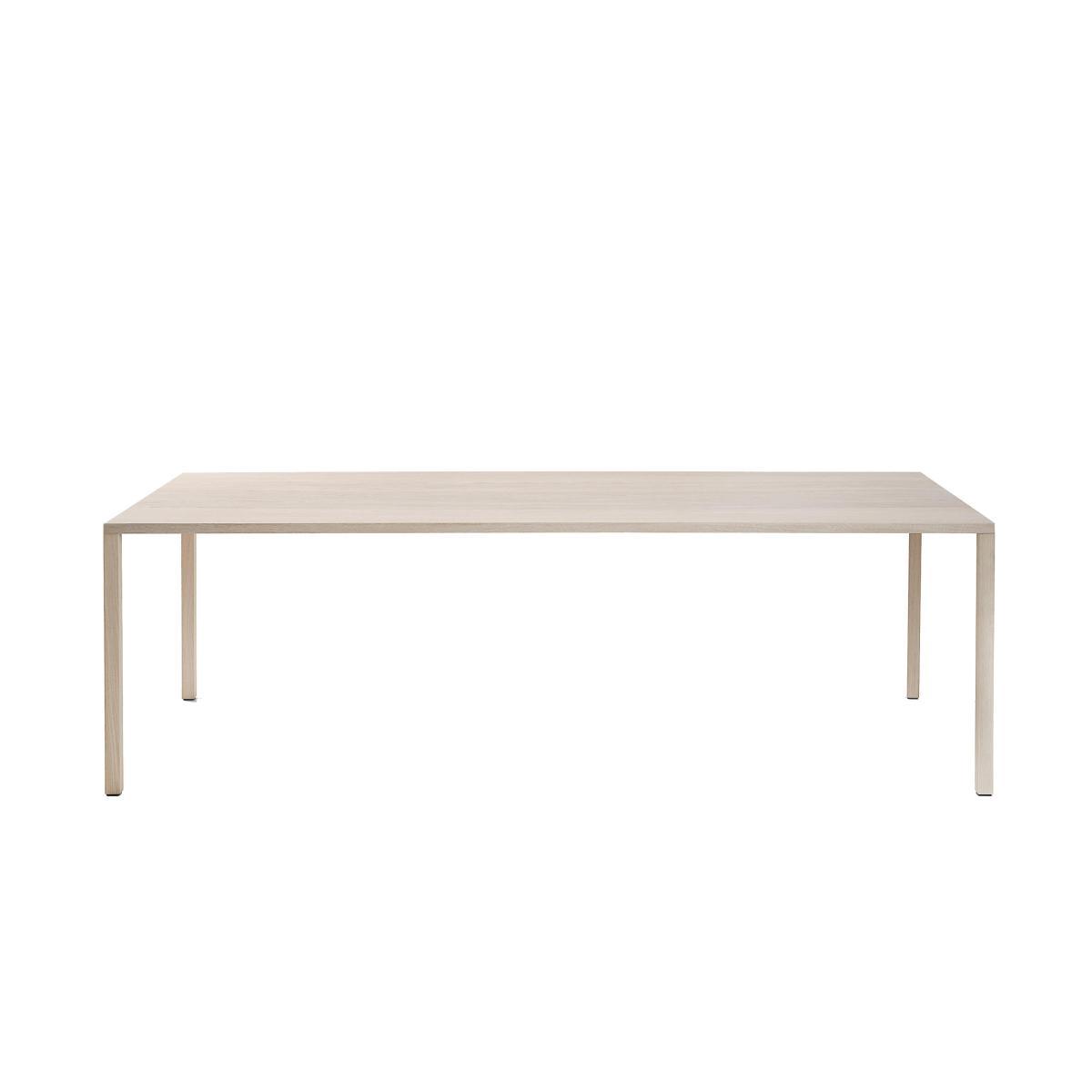 SLIC Tisch Eiche weiß