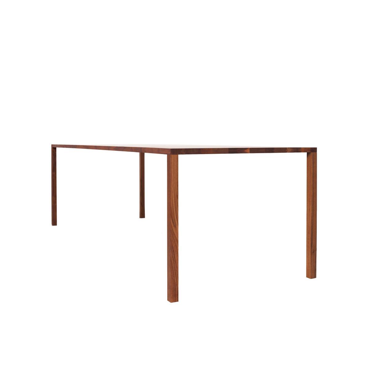 SLIC Tisch Nussbaumsplint