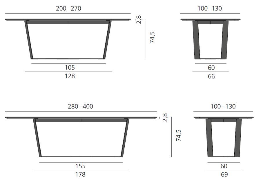 PERO Tisch, alle Detail-Informationen