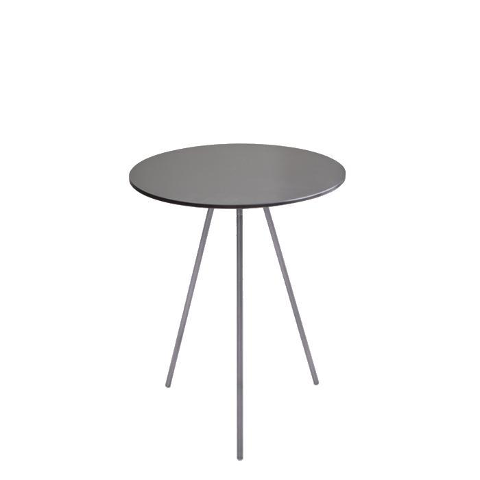 DRIP Beistelltisch Stahl, Höhe 42 cm, Durchmesser 35 cm