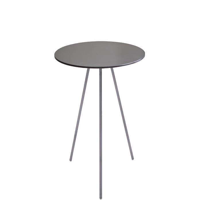 DRIP Beistelltisch Stahl, Höhe 50 cm, Durchmesser 40 cm
