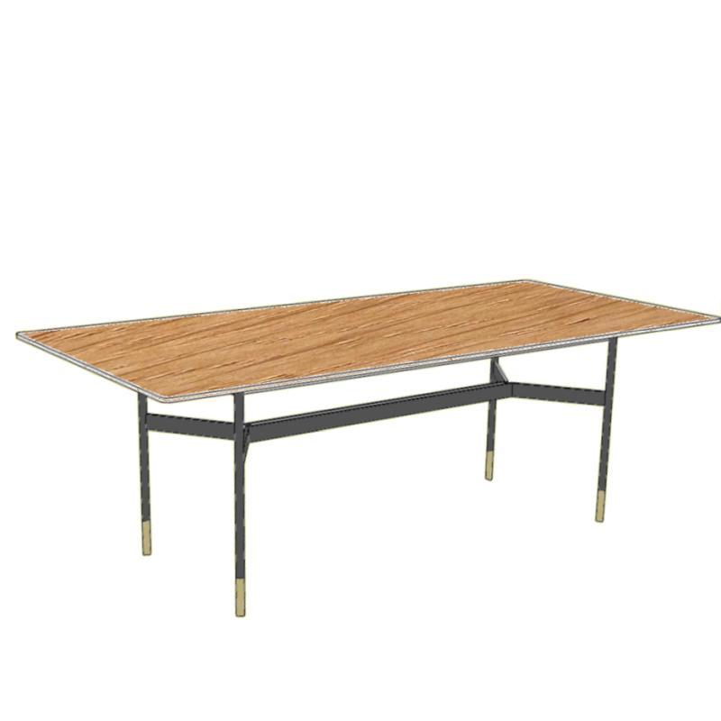 HARRI Tisch Platte rechteckig, Größe nach Wunsch