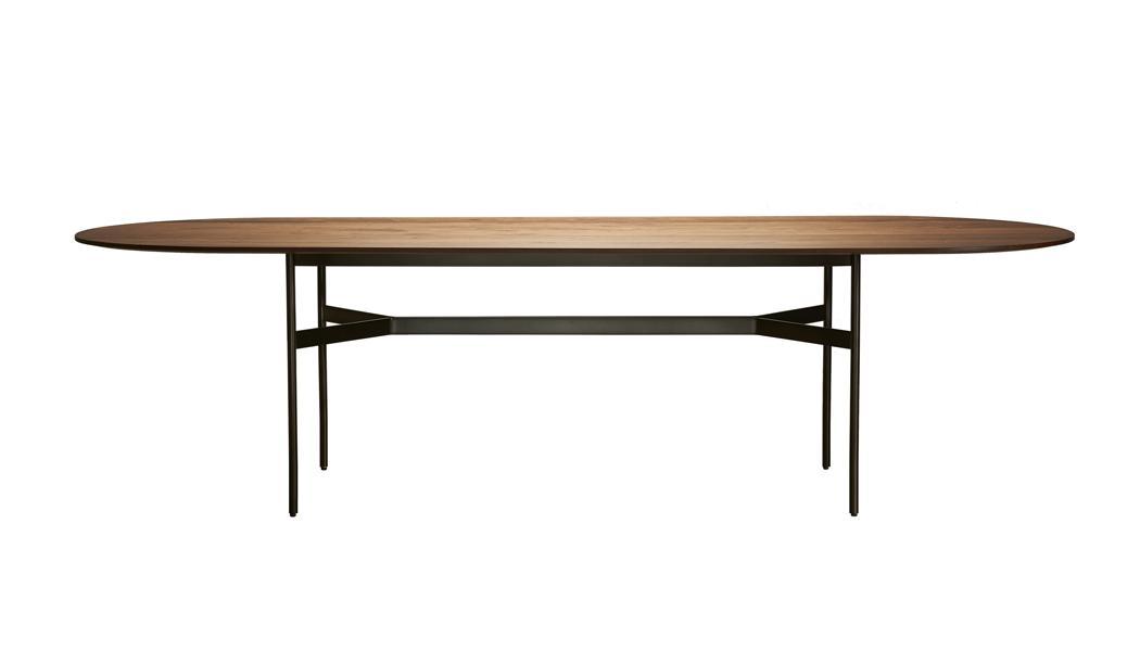HARRI Tisch Platte oval, Größe nach Wunsch