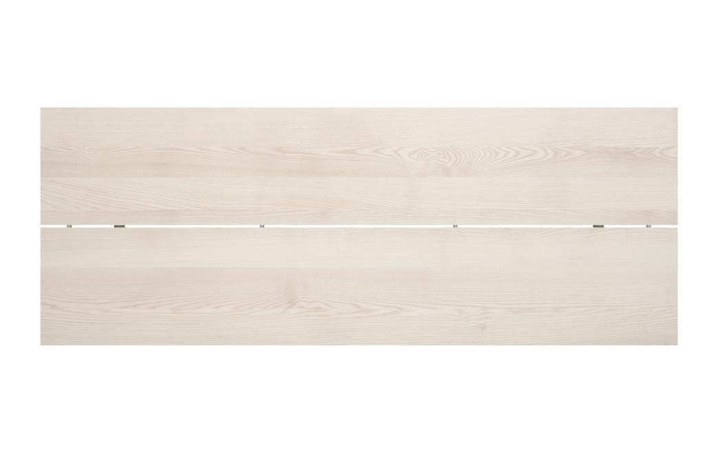 P68 Tisch / Esstisch, die geteilte Platte von oben